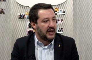"""Dl sicurezza, Matteo Salvini: """"Orlando e De Magistris si dimettano"""""""