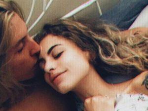 Christian Kent e Michelle Avila.