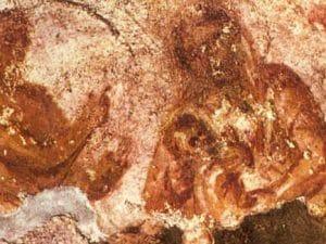 La prima Natività della storia risale al III secolo: si trova nelle catacombe di Priscilla, a Roma.