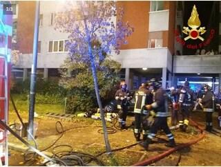 Reggio Emilia, incendio in un palazzo: due morti, gravissime due bambine