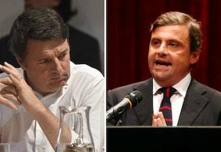 """Pd, Calenda contro Renzi: """"Matteo dica subito cosa vuole fare"""""""