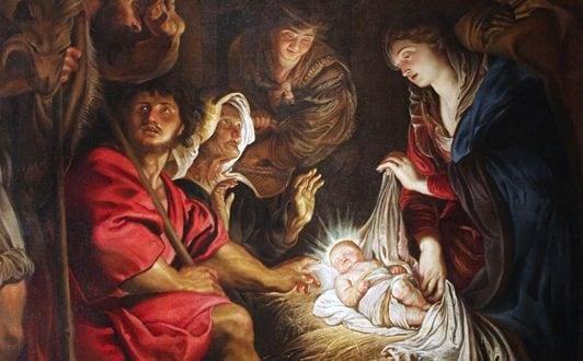 Pieter Paul Rubens, l'Adorazione dei Pastori (1608), Pinacoteca Civica di Fermo.