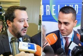 """Migranti, Di Maio: """"Sì a donne e bambini"""". Salvini: """"M5s parli ma decido io, non arriva nessuno"""""""