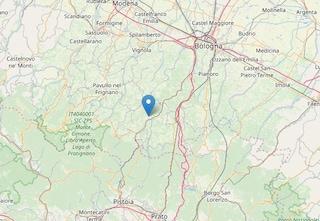 Terremoto tra Bologna e Pistoia, scossa di magnitudo 3.2 nella notte