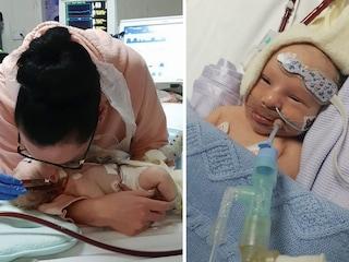 """Sarah e Chris hanno bisogno di un cuore per il loro bambino: """"Ci serve un miracolo, aiutateci"""""""