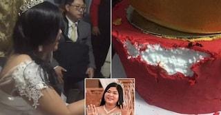 Filippine. Matrimonio rovinato: la torta è fatta di polistirolo. Wedding planner arrestata