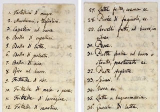 Il menù di Capodanno scritto da Giacomo Leopardi: cosa voleva mangiare il poeta che amava Napoli