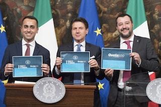 Quota 100, 5 motivi per abolire subito la truffa perfetta del governo Salvini-Di Maio