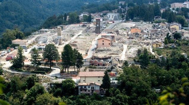 La città di Amatrice a due anni e mezzo dal terremoto del 24 agosto 2016