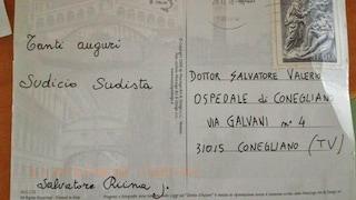 """""""Auguri, sudicio sudista"""". Lettera di minacce al primario firmata da 'Salvatore Riina Jr'"""