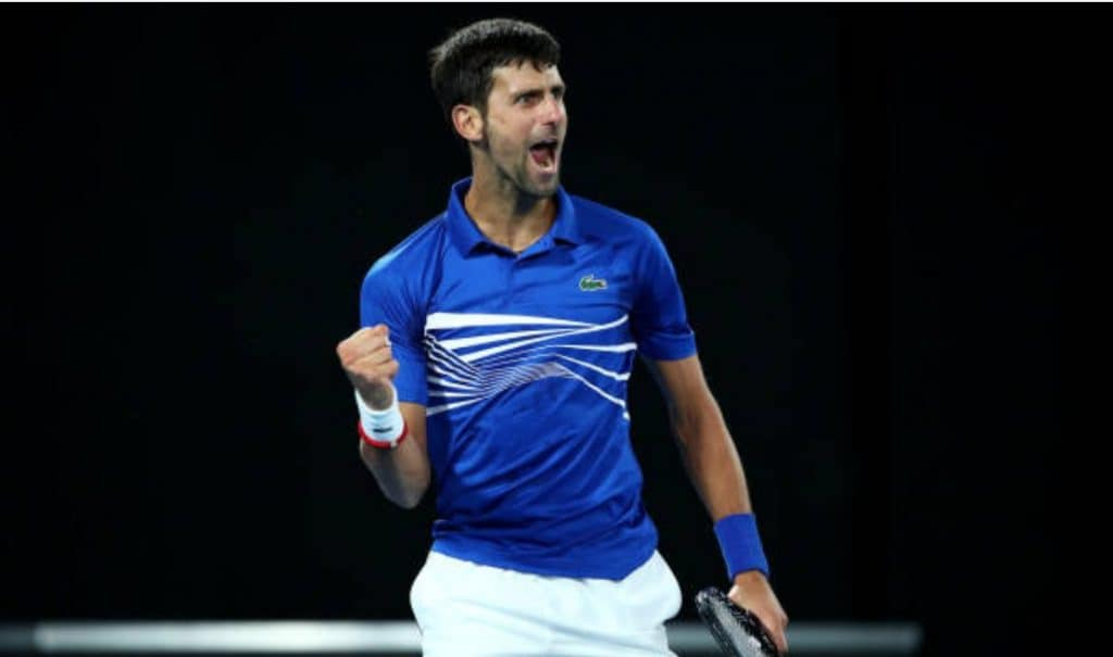 7 vittorie agli Australian Open per Djokovic.