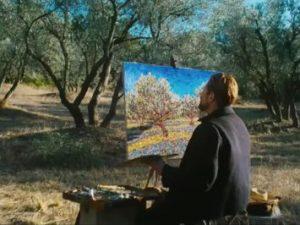 """Un frame tratto dal film """"Van Gogh. Sulla soglia dell'eternità"""" in uscita al cinema il 3 gennaio."""
