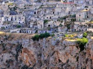 Matera è la città Capitale Europea della Cultura del 2019.