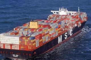 """Mare del Nord, nave perde 270 container durante tempesta: """"Contengono sostanze pericolose"""""""