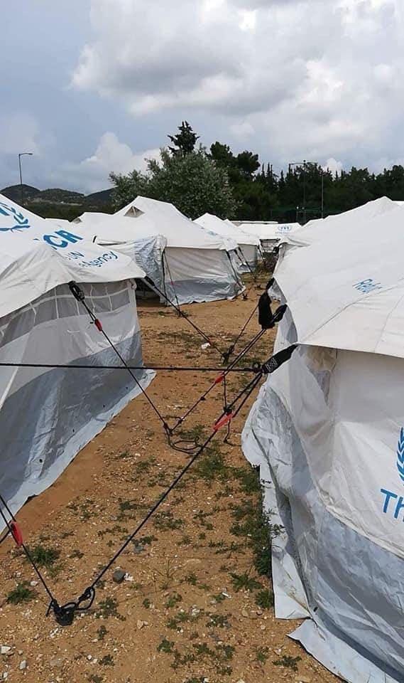 Foto di Musli Alievskinel campo profughi turco.