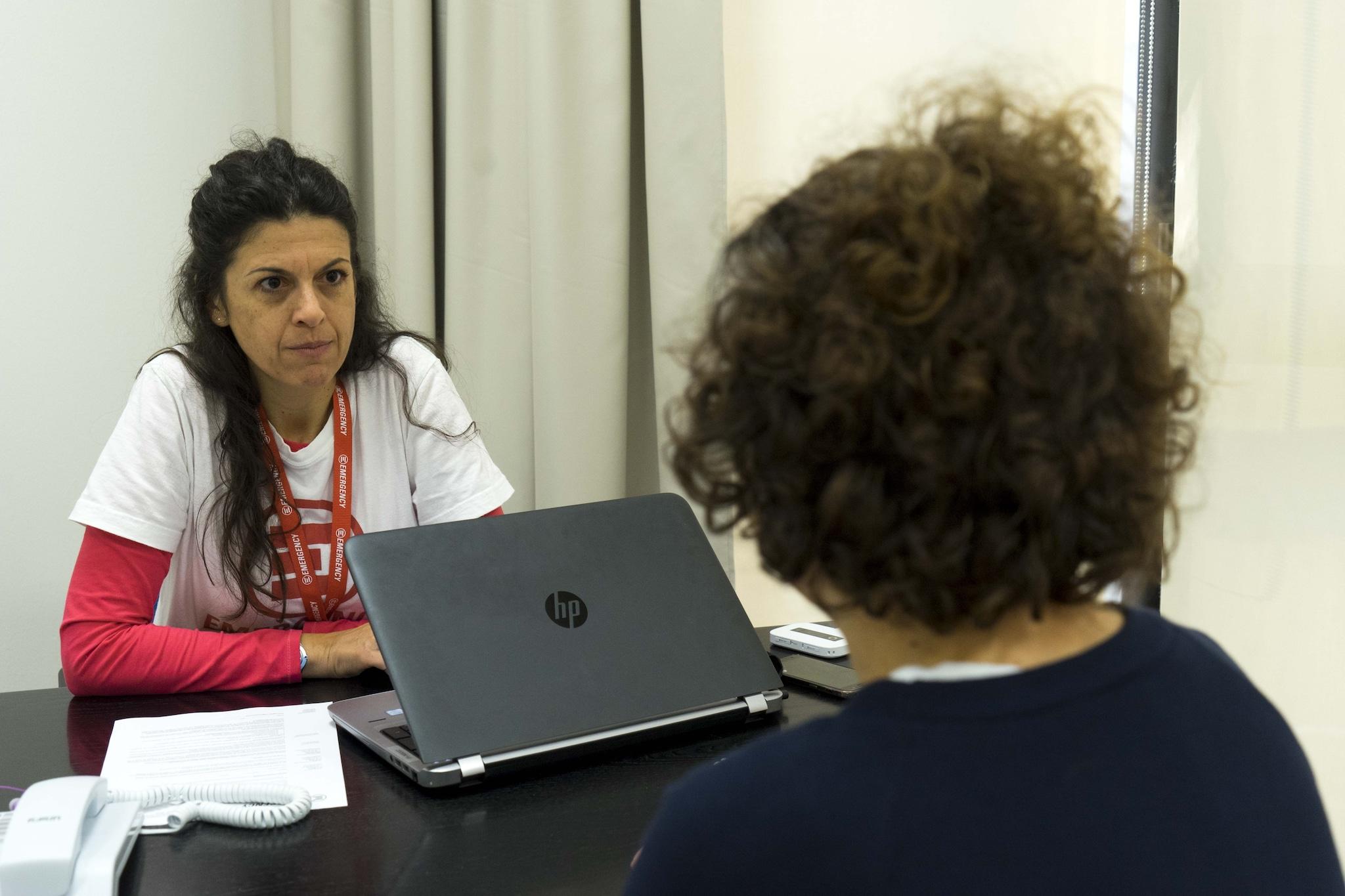La dottoressa Giovanna Bianco. Foto di Carolina Paltrinieri.