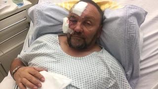 Il deputato tedesco di estrema destra Frank Magnitz non è stato pestato, ma è caduto