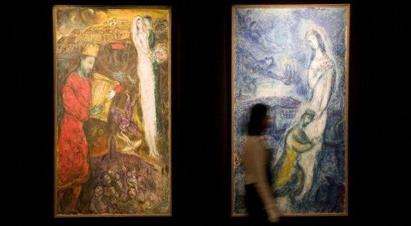 Marc Chagall sarà in mostra a Napoli dal 15 febbraio.