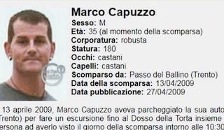Il giallo di Marco, scomparso 10 anni fa: ritrovato il suo zaino, riprendono le ricerche