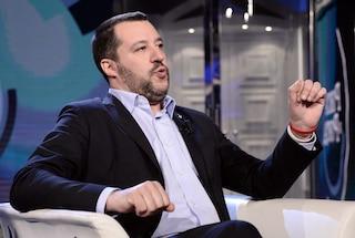 """Matteo Salvini: """"Migliaia di terremotati fuori dalle loro case, voglio occuparmi prima di loro"""""""