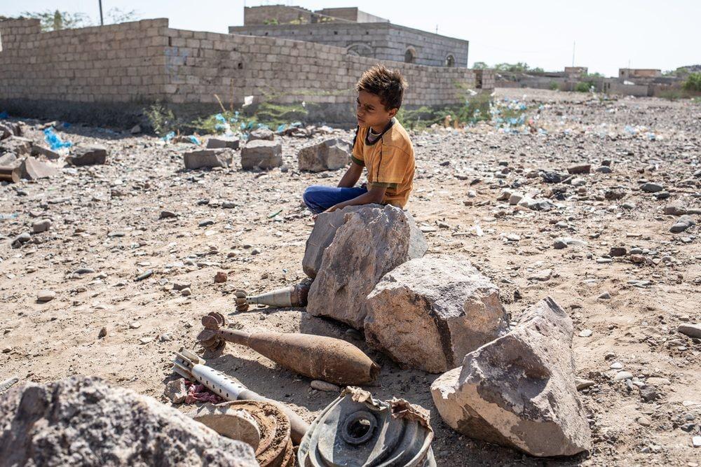 In Yemen, oltre un terzo delle vittime di mine sono bambini (Medici senza Frontiere)