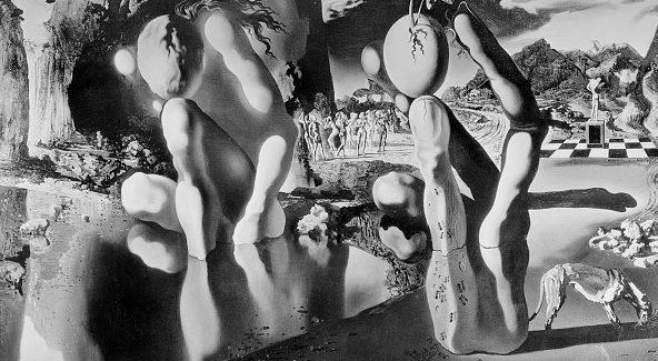 """Metamorfosi di Narciso"", Salvador Dalì (1936), Tate Gallery, Londra."