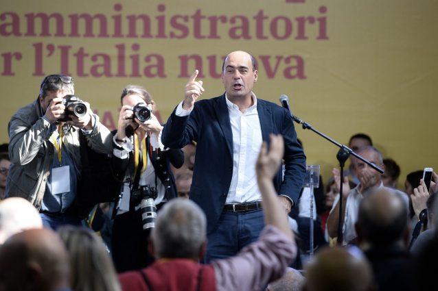 Primarie PD, Zingaretti al 51% nei circoli