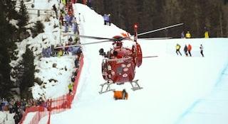 Piancavallo, bimbo di 9 anni cade sulla pista da sci: è grave, lesione alla spina dorsale