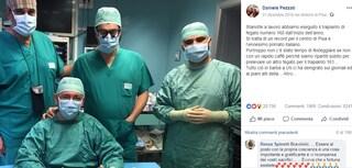 """Pisa, il post del chirurgo che fa trapianti anche a Capodanno è virale: """"Fiero ma stanco"""""""