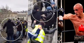 Gilet gialli: campione di boxe francese prende a pugni un gendarme (VIDEO)