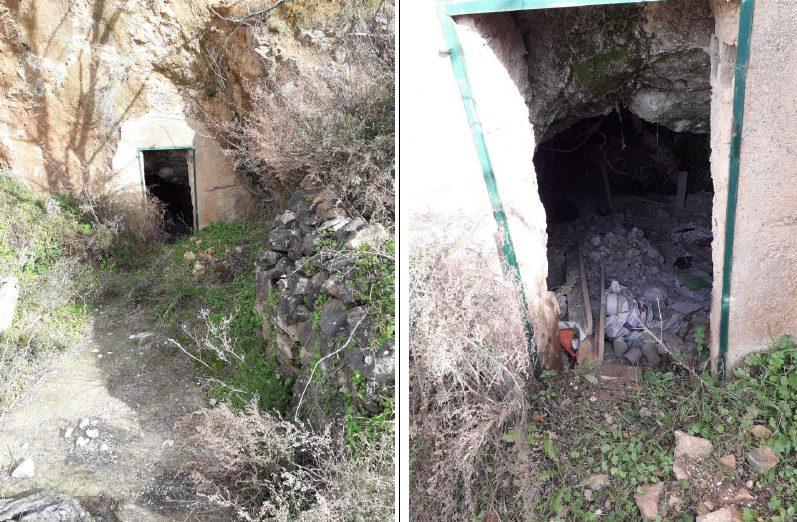 Un altro rifugio utilizzato da Nicolino