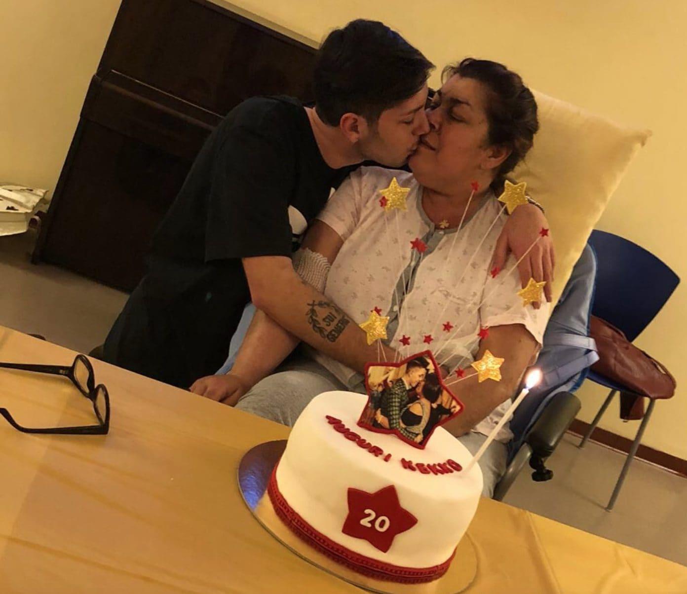 """Il compleanno di """"Kekko"""" nell'Hospice"""