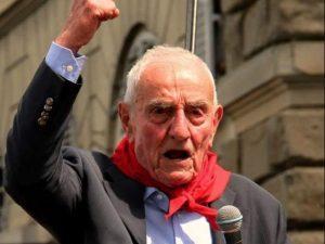 Silvano Sarti, partigiano Pillo. Foto di Leonardo Sgatti.
