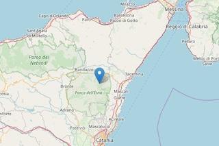 Etna, terremoto di magnitudo 4.1 nella notte a Milo
