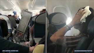 Terrore in alta quota: forte turbolenza, aereo costretto all'atterraggio d'emergenza, 8 feriti