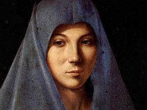 """""""L'Annunciata di Palermo"""" arriva a Milano, in occasione della mostra dedicata ad Antonello da Messina a Palazzo Reale."""