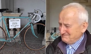 """Sparita la mitica bici di Fausto Coppi, proprietario in lacrime: """"Vi prego ridatemela"""""""