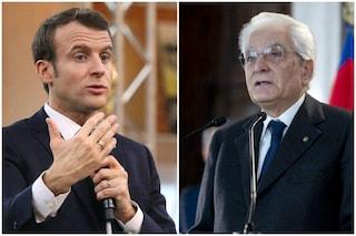 """Sergio Mattarella riallaccia i rapporti con la Francia, telefonata con Macron: """"Lavoriamo insieme"""""""