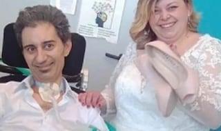 La malattia non ha fermato il loro amore: Martina e Michele sposi  in corsia