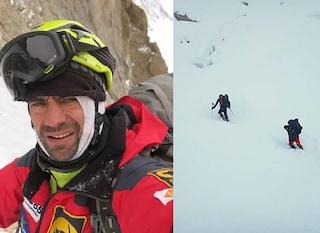 """Ferme per neve e vento le ricerche di Daniele Nardi, Messner: """"Poche speranze"""""""