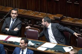 Matteo Salvini e Luigi Di Maio: divisi su tutto, uniti solo dal potere