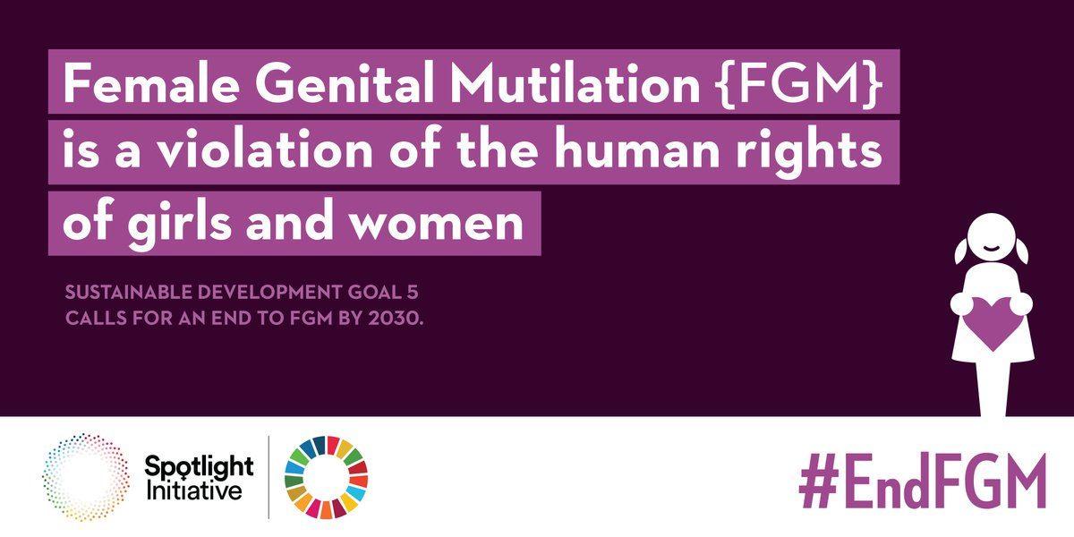 Giornata mondiale contro le mutilazioni genitali femminili