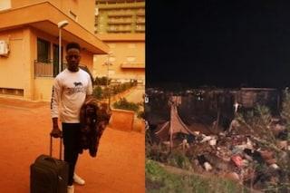 San Ferdinando, nuovo incendio nella Tendopoli: morto un ventiseienne senegalese