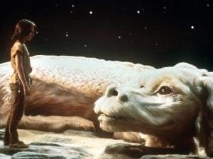 """Una delle immagini più conosciute de """"La storia infinita"""", tratta dall'omonimo film del 1984 di Wolfgang Petersen."""