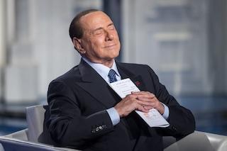 """Silvio Berlusconi ammette: """"Ho avuto paura, torno in campo nell'interesse degli italiani"""""""