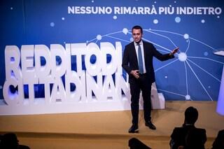 """Luigi Di Maio presenta il sito del reddito di cittadinanza: """"Giornata di grande orgoglio"""""""