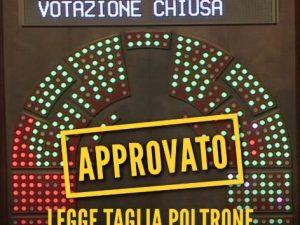 taglio numero parlamentari il senato approva il ddl