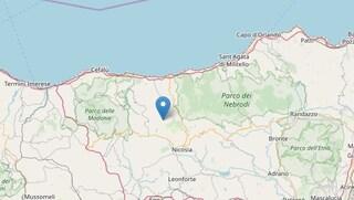 Terremoto in Sicilia, scossa di magnitudo 3.3 a Castel di Lucio