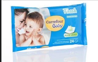 Un batterio pericoloso nelle salviette per bambini: Carrefour dispone il ritiro
