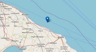 Terremoto magnitudo 3.3 a Brindisi: paura ma nessun danno